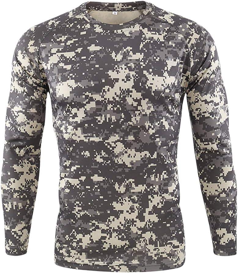 W&TT Camiseta táctica Militar para Hombre Camisa de Combate de Camuflaje de Secado rápido de Manga Larga Camisa Transpirable Slim Fit Airsoft Army,A,S: Amazon.es: Hogar
