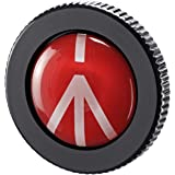 Manfrotto Compact Solid Aluminum Compact Quick Release Plate for Compact Action Tripod, Black (ROUND-PL)