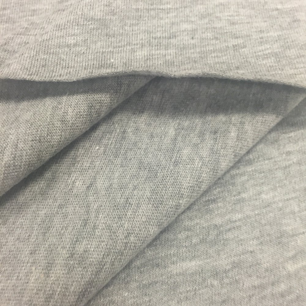 177b8be5406 Amazon.com: USA Made Premium Quality Cotton Modal Jesey Knit Fabric  (Wholesale Price by the bolt) - Heather Grey - 10 Yards