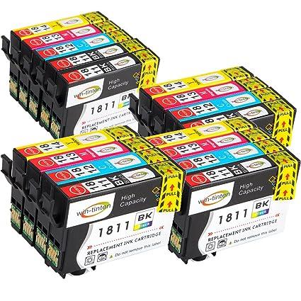 Win-tinten T1811-T1814 18 x lcompatible Cartucho de Tinta ...