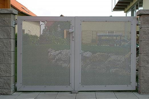 Aluminio valla Loos, valla para casa y el jardín, vallas de aluminio con garantía de por vida: Amazon.es: Hogar