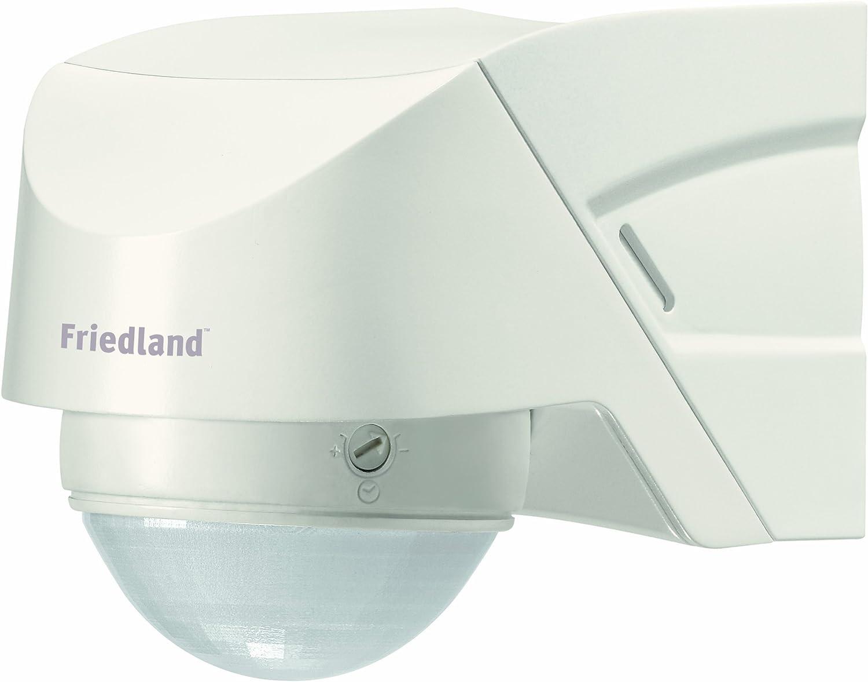 Friedland L330WHI Spectra + - Luz con sensor de movimiento 360° con mando, color blanco