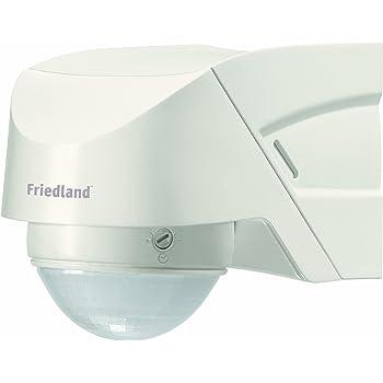Einen guten Bewegungsmelder außen bekommen Sie bei dem Hersteller Friedland.