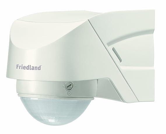 Friedland L330WHI Spectra + - Luz con sensor de movimiento 360° con mando, color