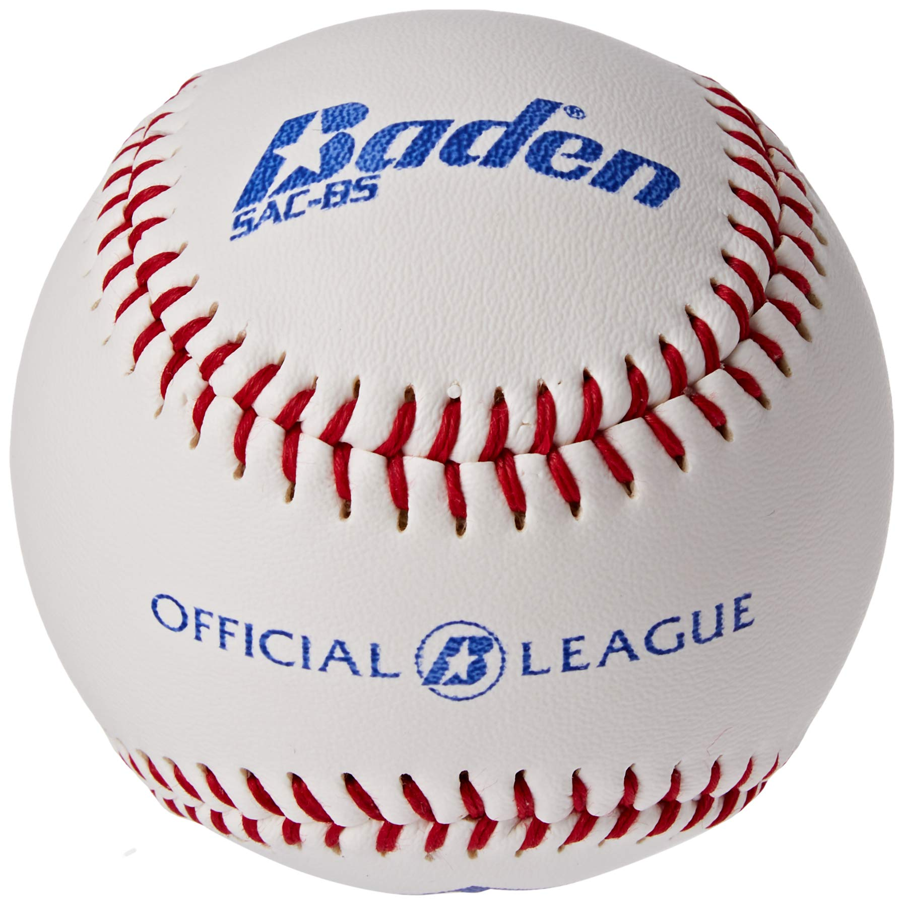 Tebery 12 Pack Standard Size Soft Baseballs Official League Individual Unmarked
