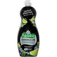 Palmolive Ultra Strength Antibacterial Dishwashing Liquid Concentrate, Charcoal and Lime, 700mL