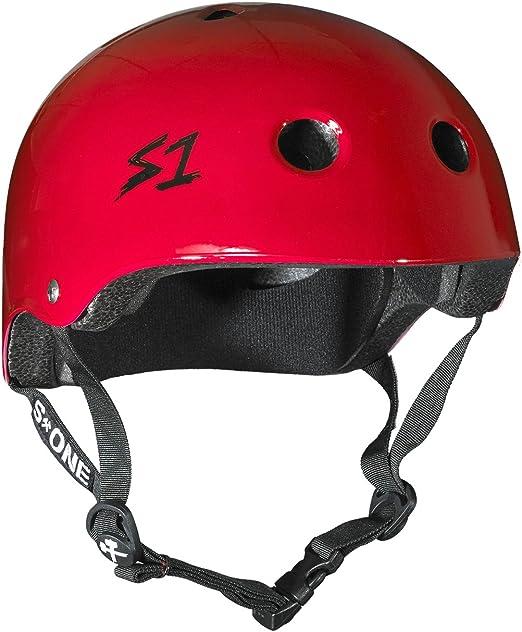and Roller Skating Purple Matte Medium Skateboarding S1 Lifer Helmet for Biking 21.5