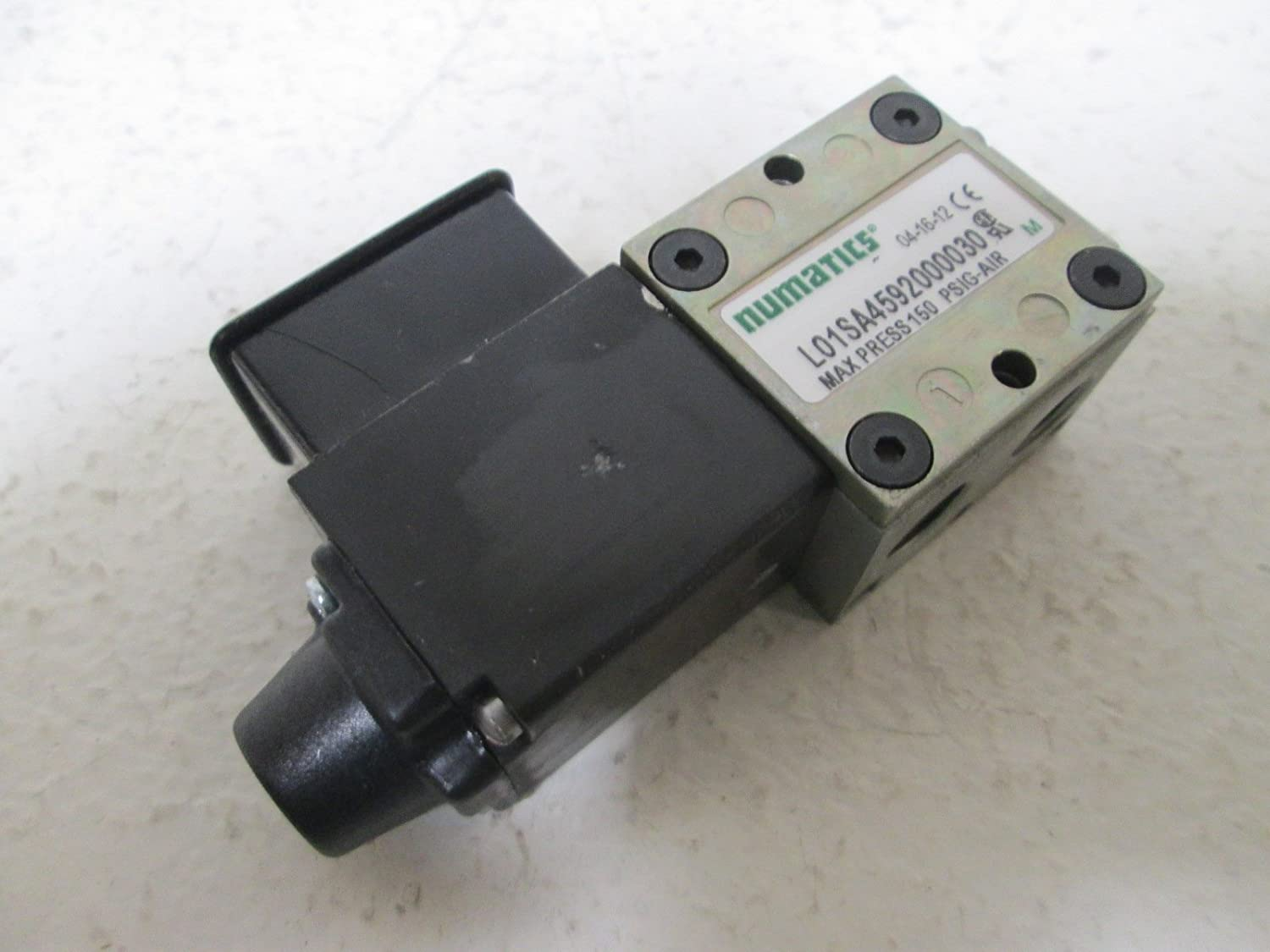 50 Hz 5//2 Spring Return 2 Position ASCO Numatics L01SA4592000030 L01 Single Direct Solenoid 50 Hz Din Plug-in 4-Way 110 VAC NPTF 1//8 Inline 120 VAC
