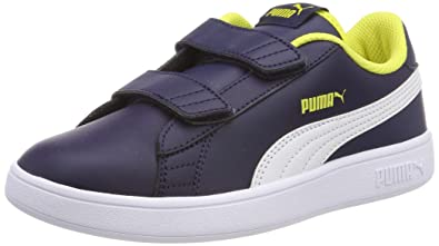 081a8aa609 Puma Unisex Kids Smash V2 LV Ps Low-Top Sneakers