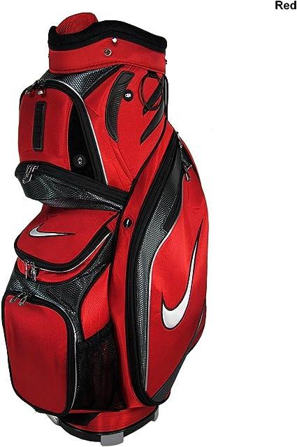 gesto Comparación acceso  Amazon.com : Nike M9 Cart Bag (Red/Silver-Graphite) : Golf Cart Bags :  Sports & Outdoors