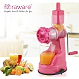 Floraware Plastic Fruit and Vegetable Juicer, 150ml, Pink