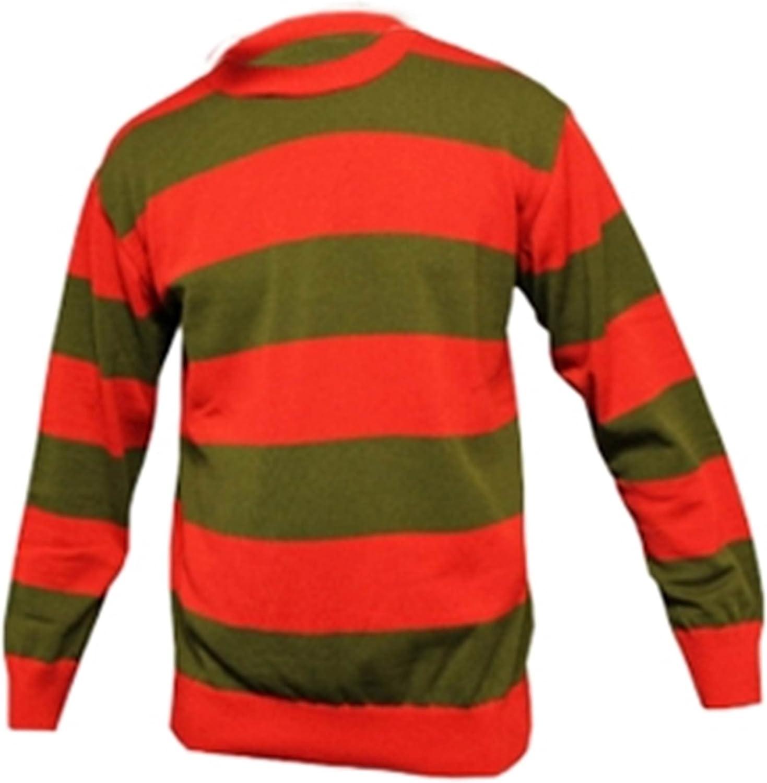 Men Red Green Jumper