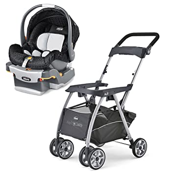 Chicco KeyFit 30 Infant Stroller Caddy ReclineSure Car Seat And Base Travel System