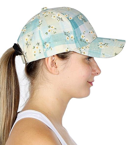 CC SERENITA Cotton Baseball Cap Print Over for Women db07b731fa6