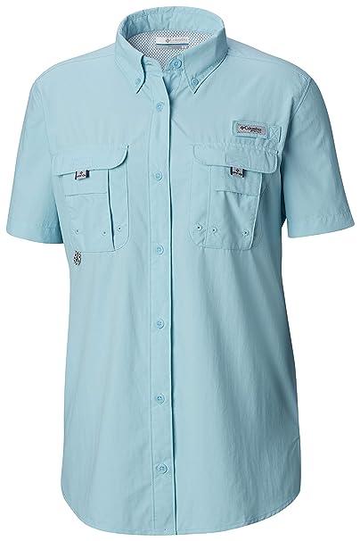 b2a37f81 Amazon.com: Columbia Women's PFG Bahama Short Sleeve Shirt: Clothing