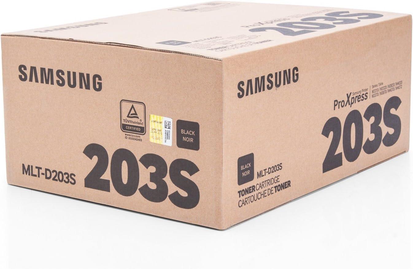 Original Samsung Mlt D203s 203s Für Proxpress M 3820 Nd Premium Drucker Kartusche Schwarz 3000 Seiten Bürobedarf Schreibwaren