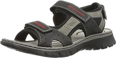 Rieker 26757 Sandale schwarz