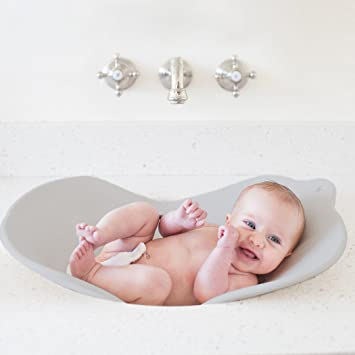 Amazon.com : Puj Flyte - Compact Baby Bathtub - Infant, Newborn, 0 ...