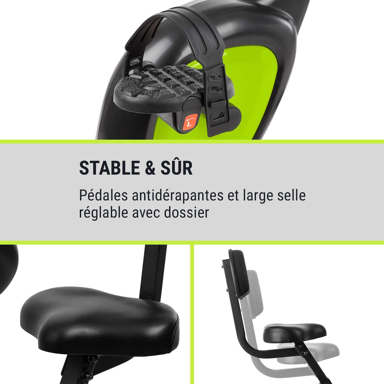 Klarfit X-Bike 700 • bicicleta estática plegable • pulsomètre y ...