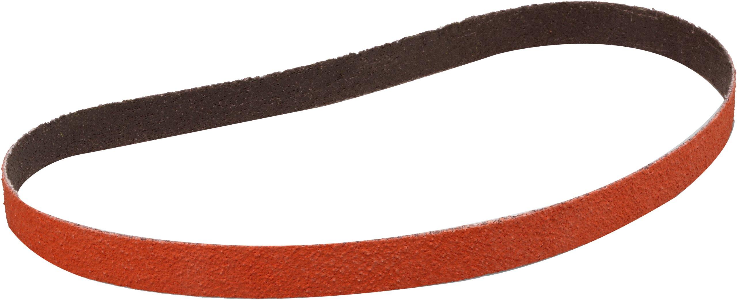 3M(TM) Cloth Belt 777F, Ceramic Grain, Wet/Dry, 3/4'' Width x 18'' Length, 36 Grit, Orange (Pack of 200)