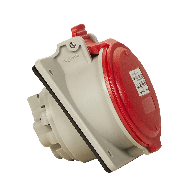 Legrand Prise de courant CEE, rouge, 090166, 400V