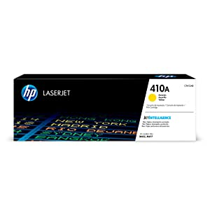 HP 410A (CF412A) Toner Cartridge, Yellow for HP Color LaserJet Pro M452dn M452dw M452nw MFP M377dw MFP M477fdn MFP M477fdw MFP M477fnw