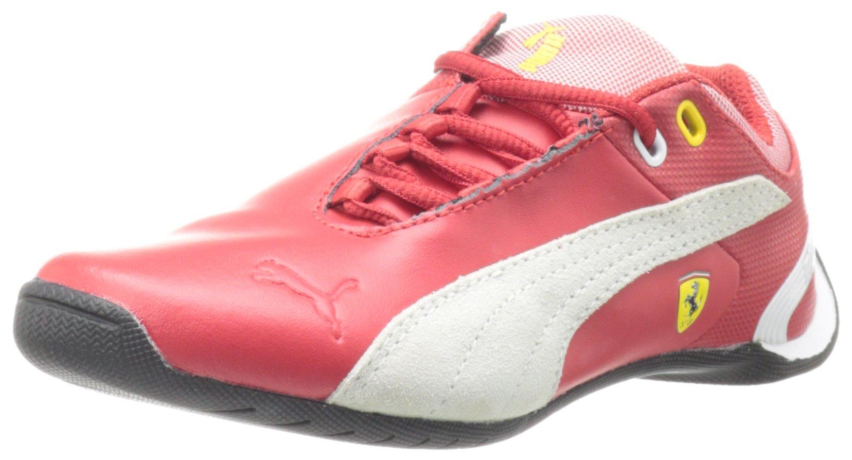 PUMA Future Cat M2 Ferrari Junior Tennis Shoe (Little Kid/Big Kid),Rossa Corsa,6 M US Big Kid