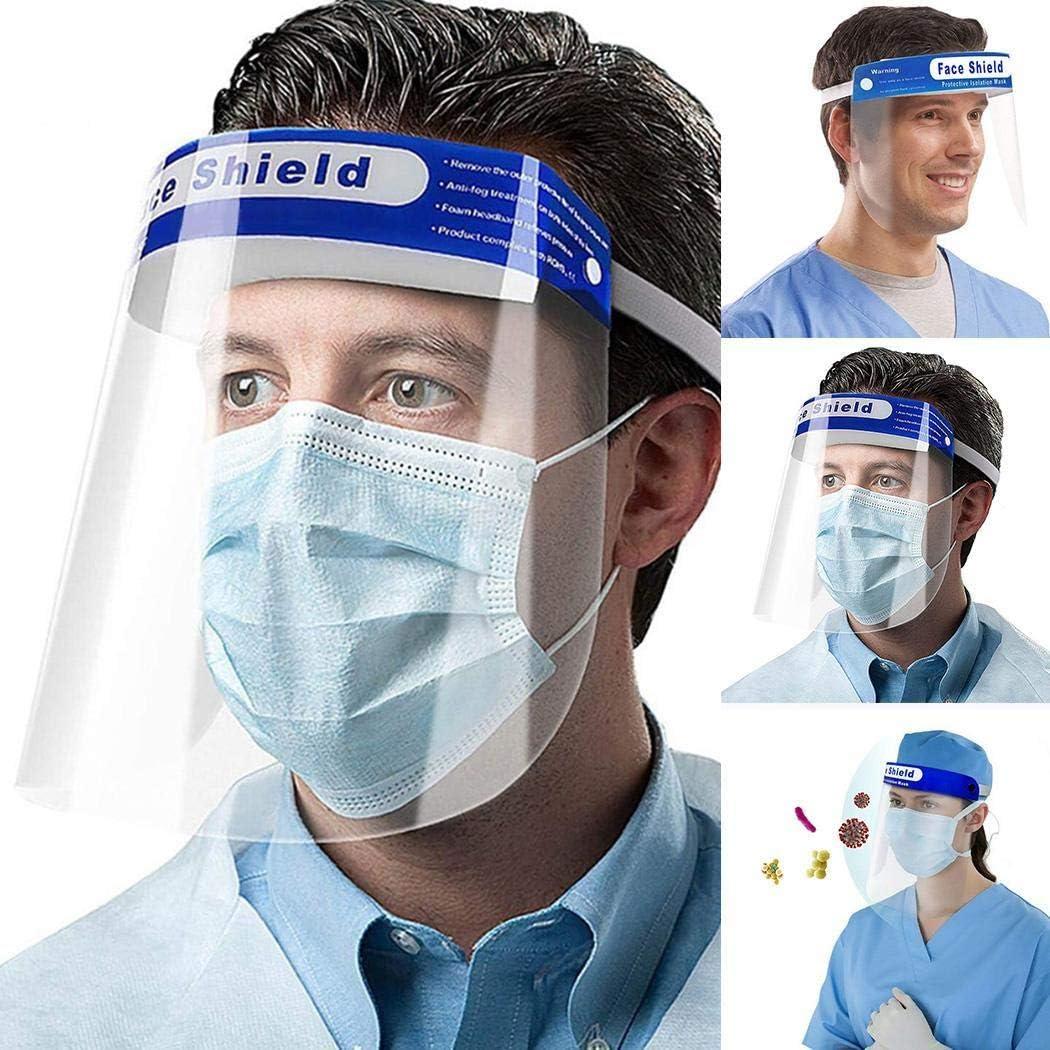 Kloius Pr/áctico antivaho Head Loop Mas carilla protectora facial