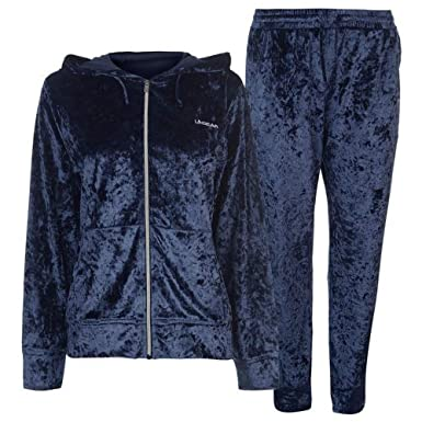 LA Gear - Pantalón de chándal para Mujer, Color Azul Marino ...