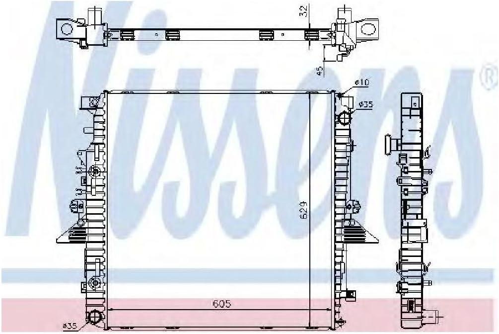 Radiator Nissens 64320A LR021777