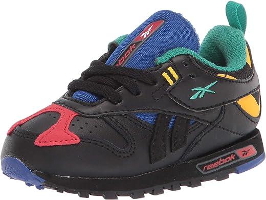 حذاء رياضي كلاسيكي من الجلد للأطفال للجنسين من ريبوك