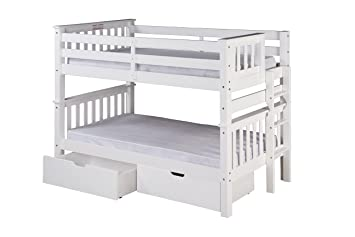 Amazon Com Camaflexi Santa Fe Mission Low Bunk Bed End Ladder With