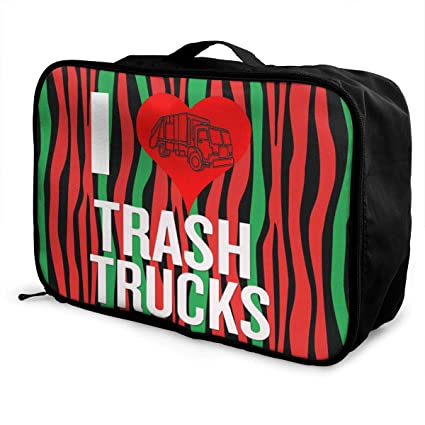 13875869b312 Amazon.com: Roli-Land Unisex I Love Garbage Trucks Stylish ...