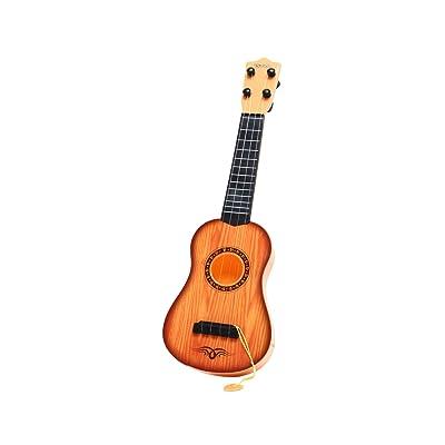 Pinzhi Guitarra Ukulele Instrumentos Musicales Juguetes de Sonido para Niños: Juguetes y juegos