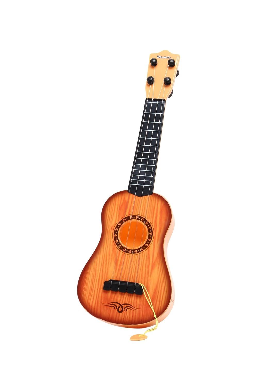 Pinzhi Kinder Gitarre Spielzeuggitarre Braun