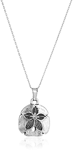 Alex and Ani Sand Dollar II En Chain Necklace