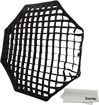 31 Octagon Umbrella Softbox Studio//Strobe Umbrella Softbox Andoer Photographic Honeycomb Grid for 80cm