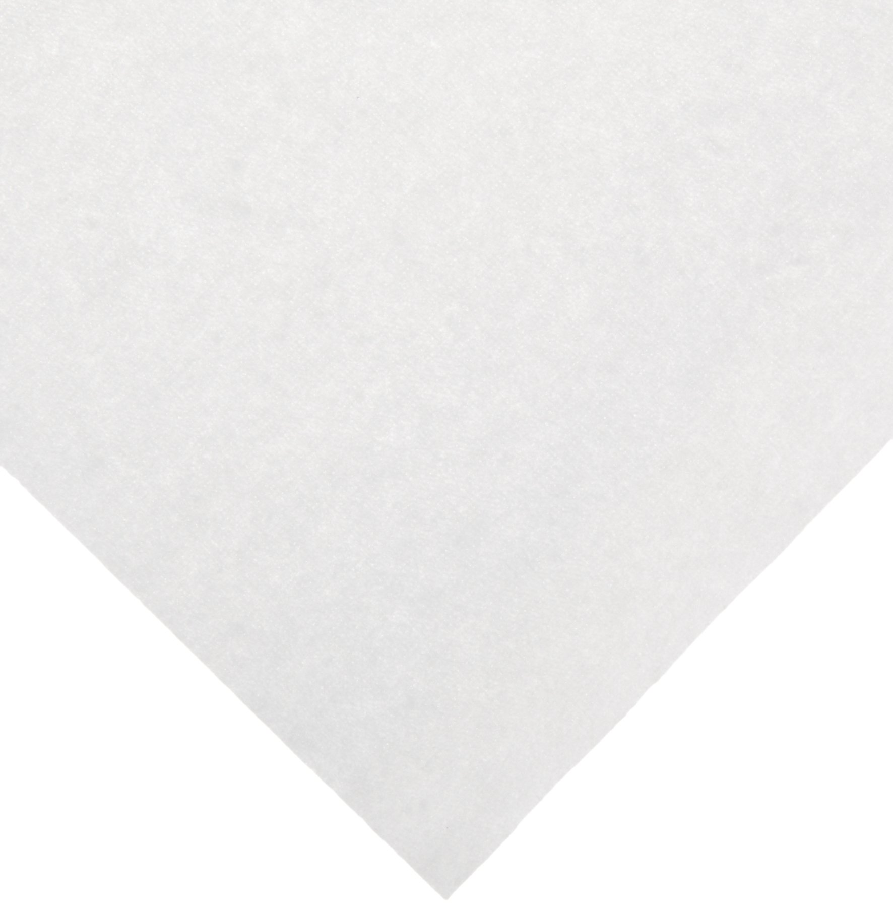 ThermoSafe ZORB66 Absorbent Sheet, Holds 360ml Water and 90ml Blood, 6'' Length x 6'' Width (Case of 500)