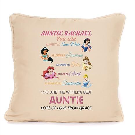 Amazon.com: Best Auntie regalo – personalizado Disney ...