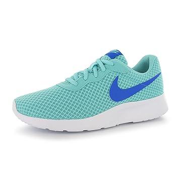 NIKE Tanjun Training Shoes Damen türkis/blau Gym Fitness ...