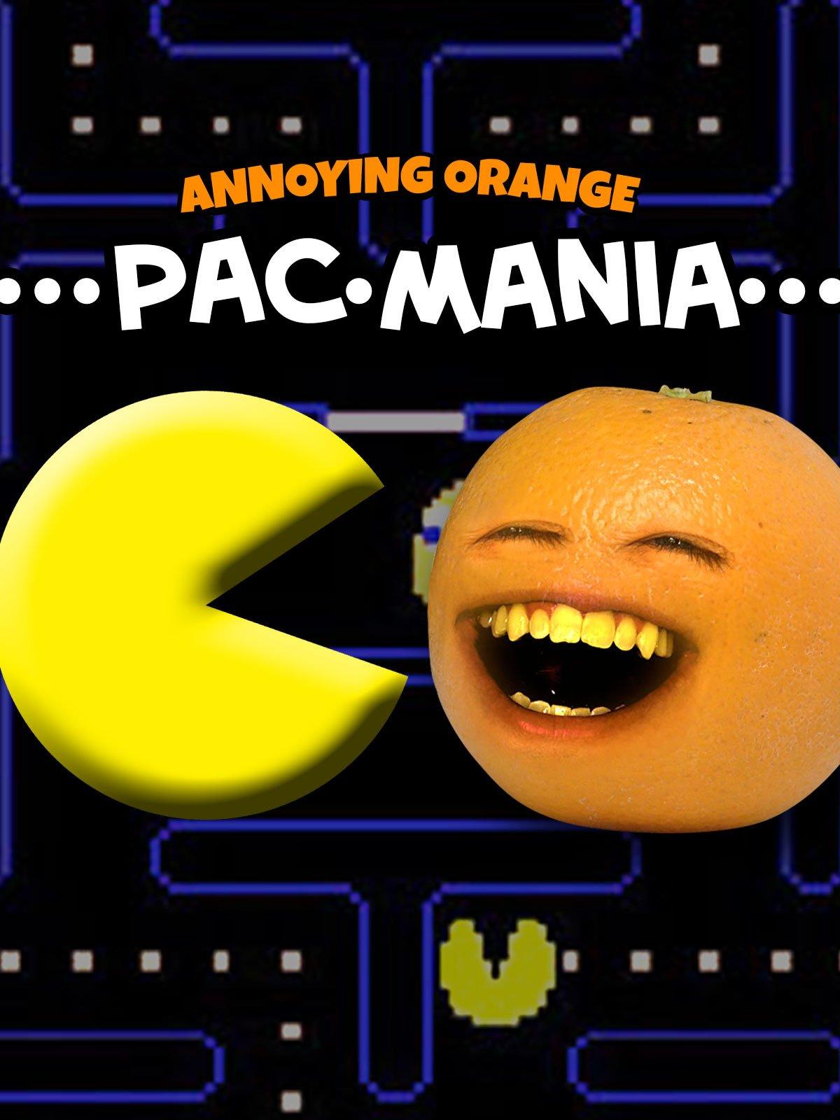 annoying orange pacman game free online