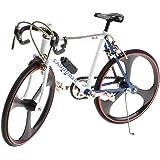 おもちゃ メタル製 1/10スケール レーシングバイクモデル 自転車模型 卓上置物 飾り 11色選択でき - #10