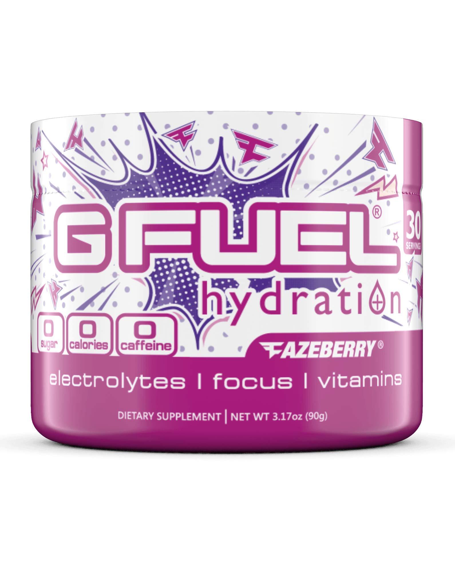 G Fuel Hydration FaZeberry Tub (30 Servings) Elite Hydration Powder 3.17oz