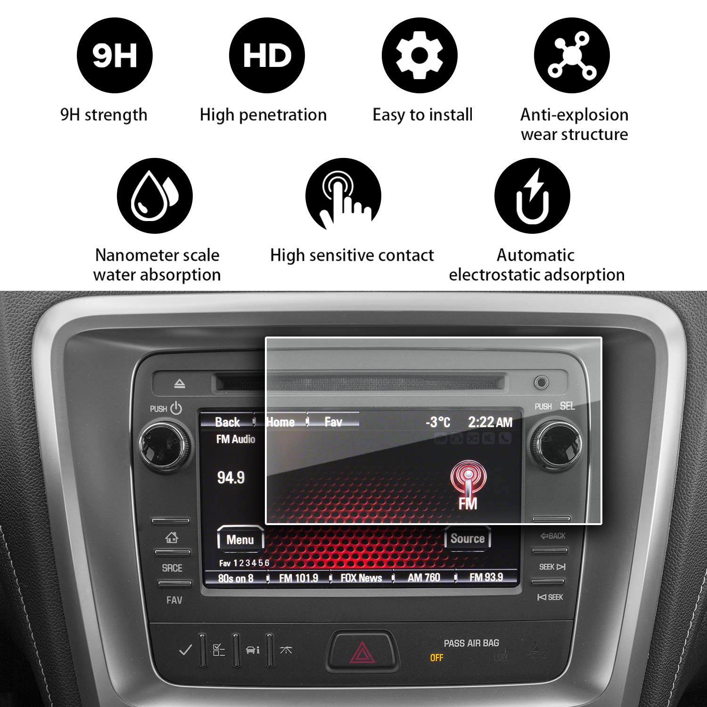 YEE PIN GMC Acadia Screen Protector for 2013 2014 2015 2016 GMC ...