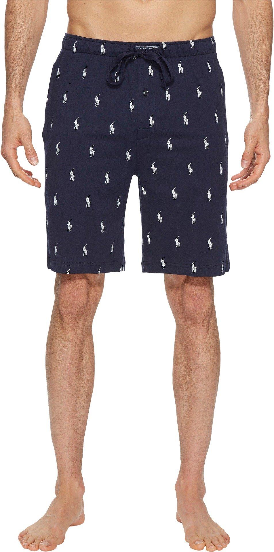 Polo Ralph Lauren Knit Sleep Short, L, Cruise Navy