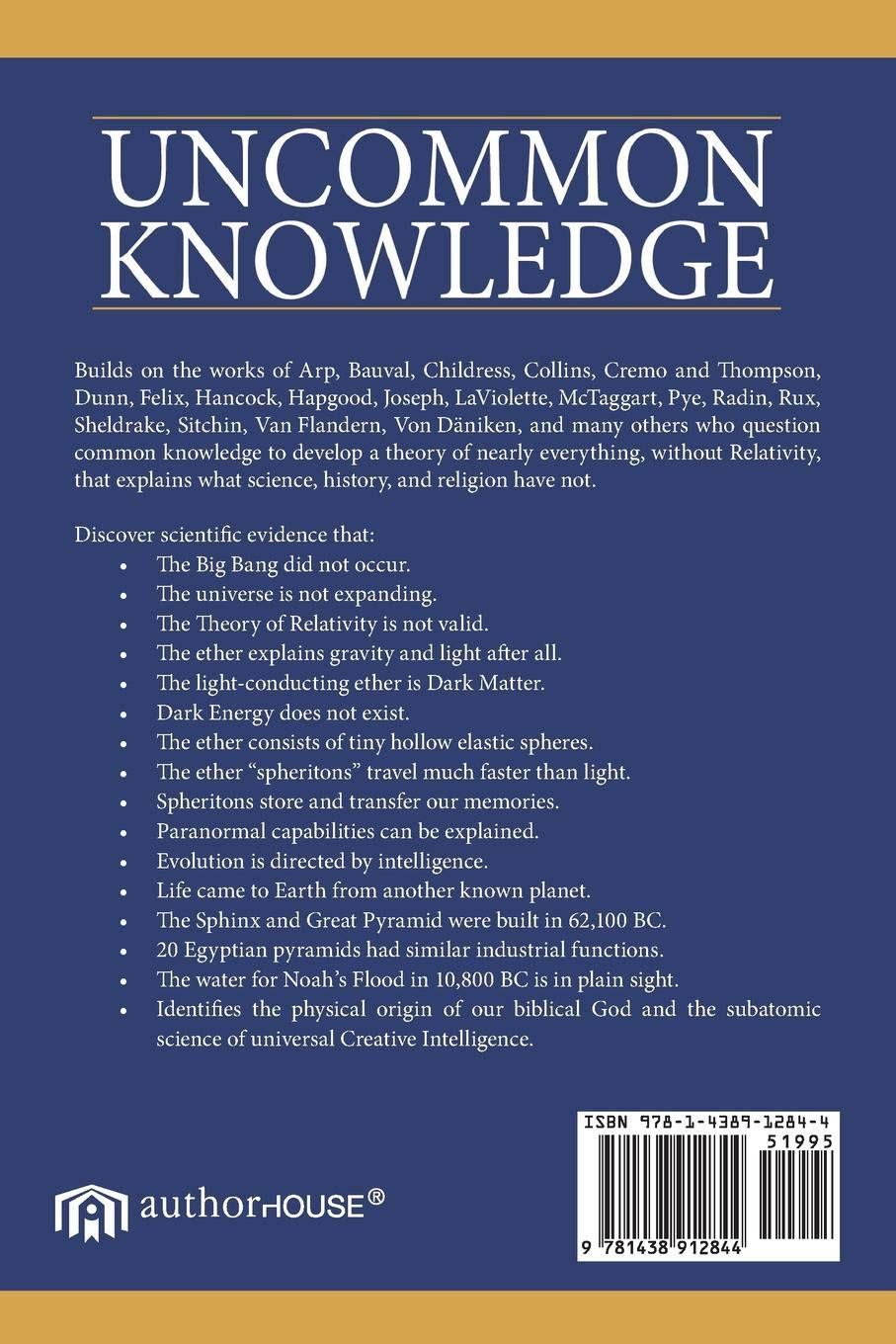 Uncommon Knowledge: New Science of Gravity, Light, the