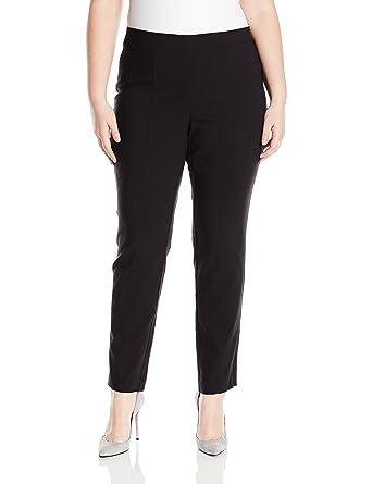 ba312f89e2a Rafaella Women s Plus Size Supreme Stretch Pant at Amazon Women s ...