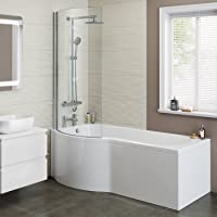 iBathUK Designer Shower Bath
