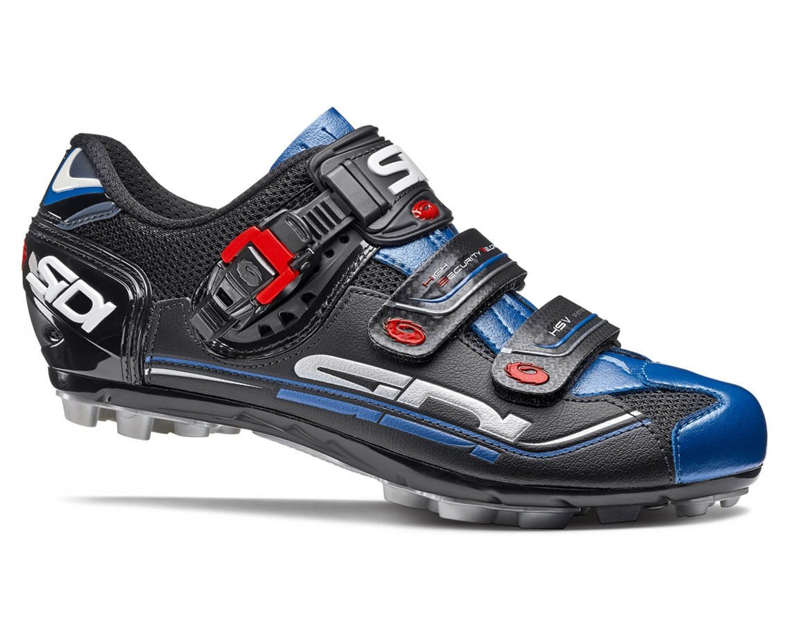 SIDI(シディ) Eagle 7(イーグル) MTB Cycling Shoes - Black/Black/Blue [並行輸入品] B074BWK3PY 46 EUR [28cm