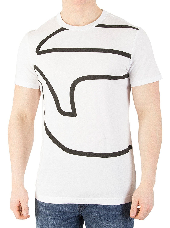 G-Star Men's Ascop T-Shirt, White, Small